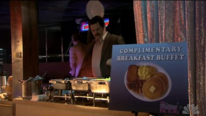 Rick Santorum's Only Requirement for Hotels: Free Breakfast Buffet
