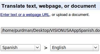 Google Now Translates Uploaded Documents