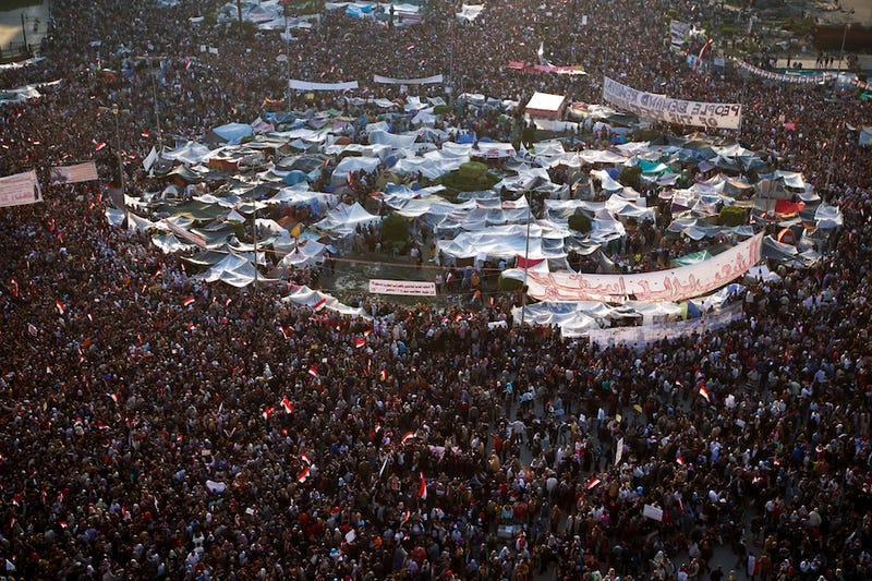 Four Weeks in Tahrir Square
