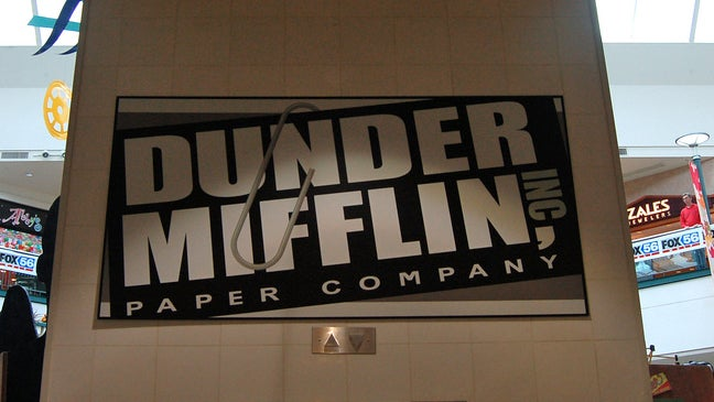 The Office's Fictional Paper Company Dunder Mifflin Now Making Actual Paper