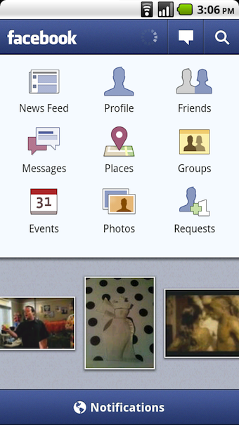 Facebook Updates iPhone and Android Apps, Adds Groups, Places, and Facebook Connect