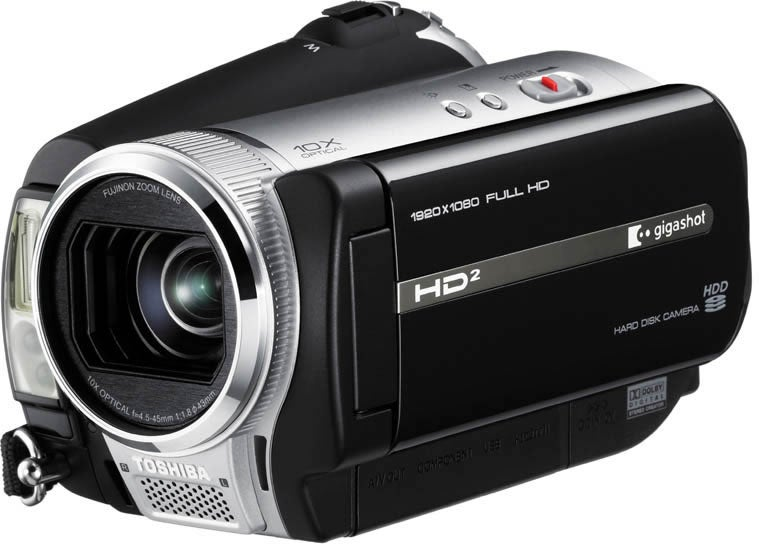 Gigashot A100 Series is Small, Full HD Camcorder from Toshiba