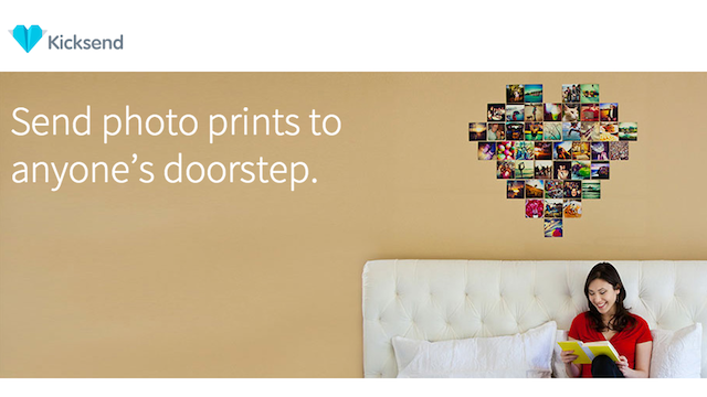 KickSend Shares Your Photos or Prints them at Your Local Pharmacy