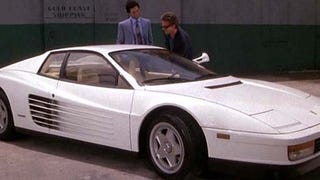 Spend All Your Cocaine Money On This Honest-To-God Miami Vice Ferrari