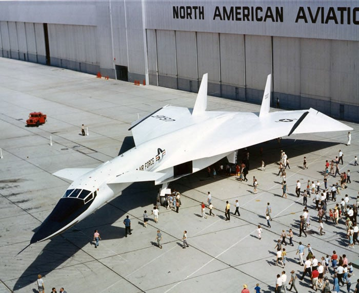 The XB-70 Valkyrie, Almost the World's First Nuclear Aircraft