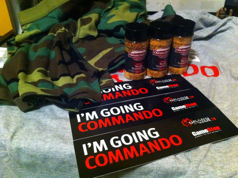 Are You Going Commando To the Gears Of War 3 Launch