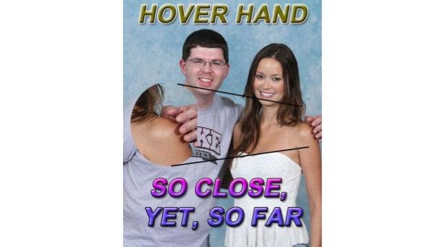 """Korea's Take on the """"Virgin Floating Hand"""" Meme"""