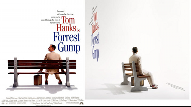 How Famous Movie Posters Look From Behind