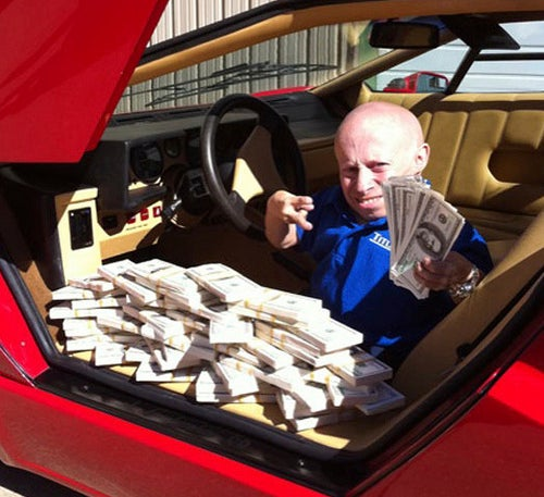 Cars Full Of Cash Is Next Obnoxious Trend