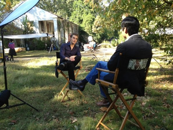 Vampire Diaries Behind the Scenes Episode 3.10 Gallery