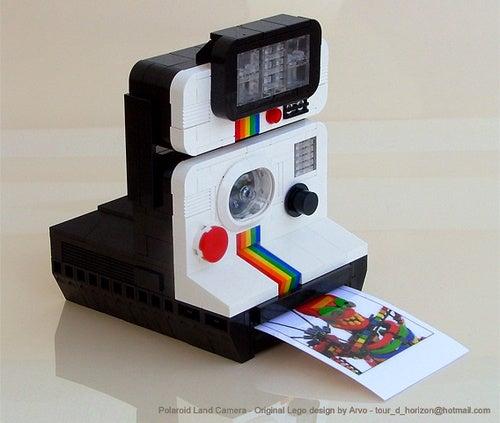 Lego Polaroid Camera Can't Possibly Be More Cute and Lovely