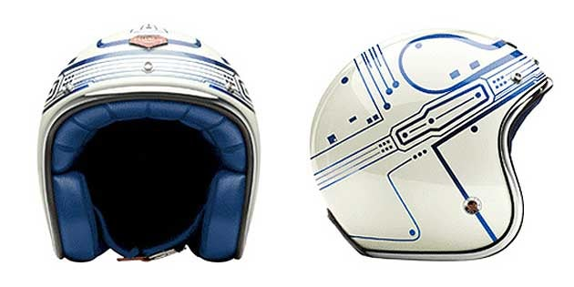 Protect Your Skull In Total Tron Luxury