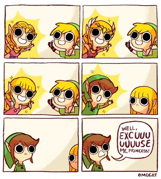 Damn It, Link, Put Those Eyes Away