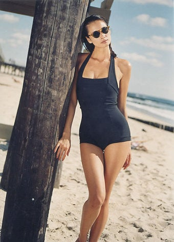 Swimsuits You'll Actually Want To Wear: The Retro Look