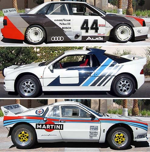 Audi, Lancia, or Ford: Which Hoonworthy Vintage Race Machine Would You Buy?
