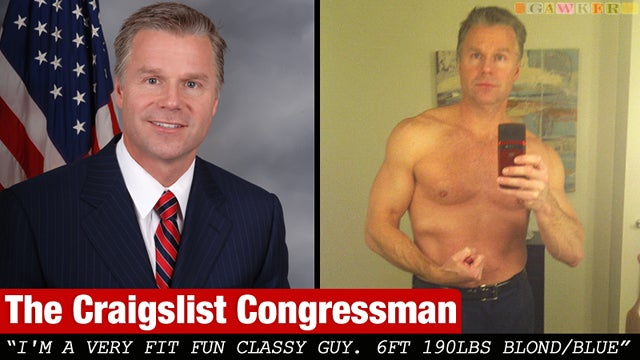Married GOP Congressman Sent Sexy Pictures to Craigslist Babe