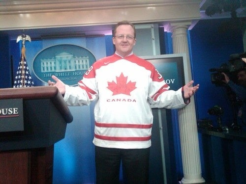 Robert Gibbs Refuses to Accede to Birthday Boy Jake Tapper's Wardrobe Demands