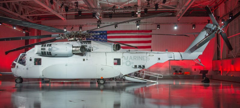 The New Marine Chopper Can Swallow Humongous Loads