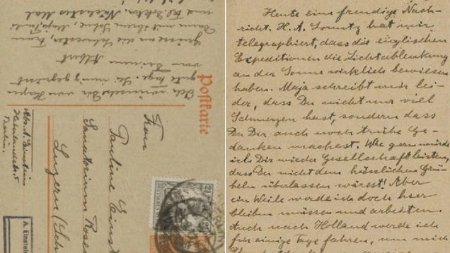 Explore Einstein's Brain Through His Notes and Letters