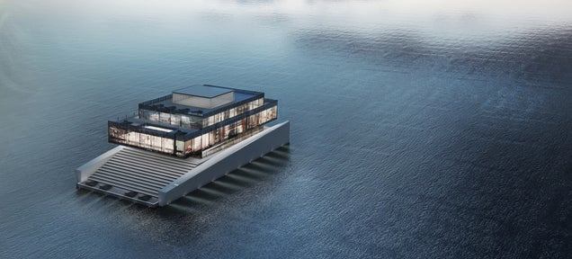 I want to live in this awesome yacht and roam the world forever