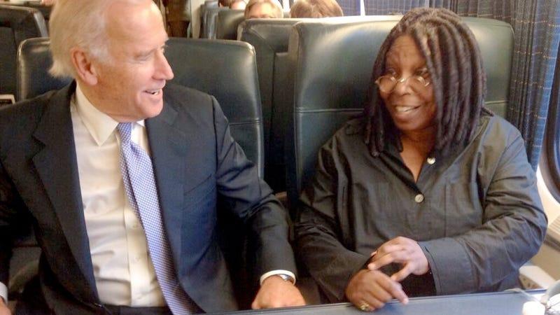 Whoopi Goldberg and Joe Biden Had a Meet Cute