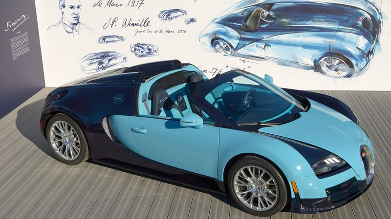 The Veyron 'Legend' is An Even More Exclusive Bugatti