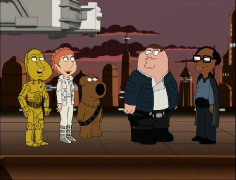 Good Thing George Lucas Likes Family Guy