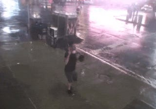 Some Of The Best GIFs Include Twirling During A Hurricane