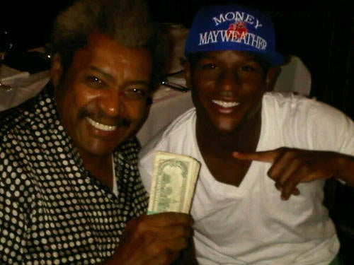 Floyd Mayweather + Don King + Las Vegas = Pictures of Cash Money