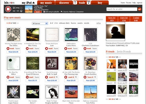 Every Song You Own, Available Online Wherever You Are For Free, Promises Lala.com