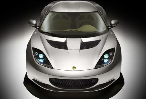The Lotus Evora Weighs A Ton...And A Half