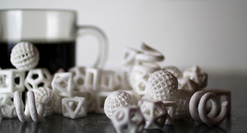 Beautiful 3D-printed candies look like delicious modern art