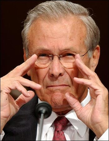 Sad Donald Rumsfeld is Not Crazy, Just Misunderstood