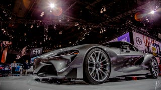 Your Ridiculously Awesome LA Auto Show Wallpapers Are Here