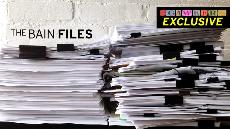 The Bain Files: The Documents in Searchable Form