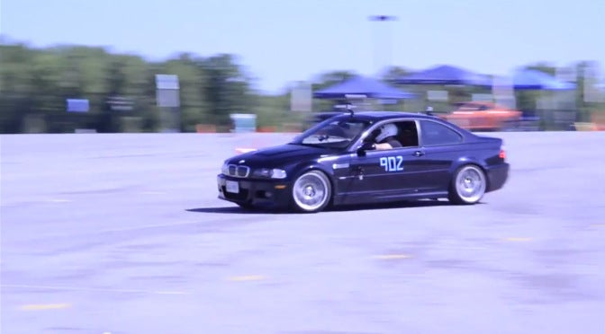 First Autocross with the E46 M3