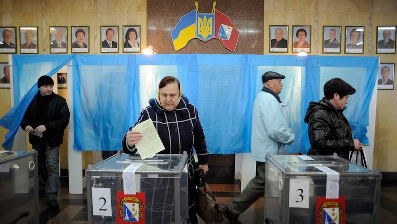 Crimea Voting Today on Secession From Ukraine