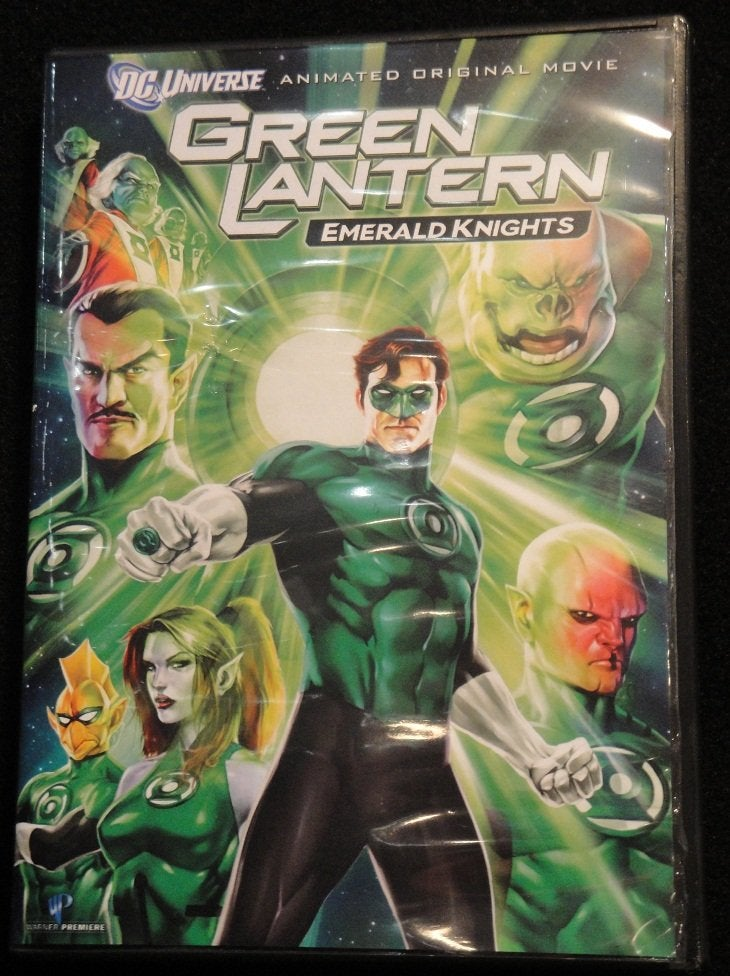 Green Lantern animated DVD cover