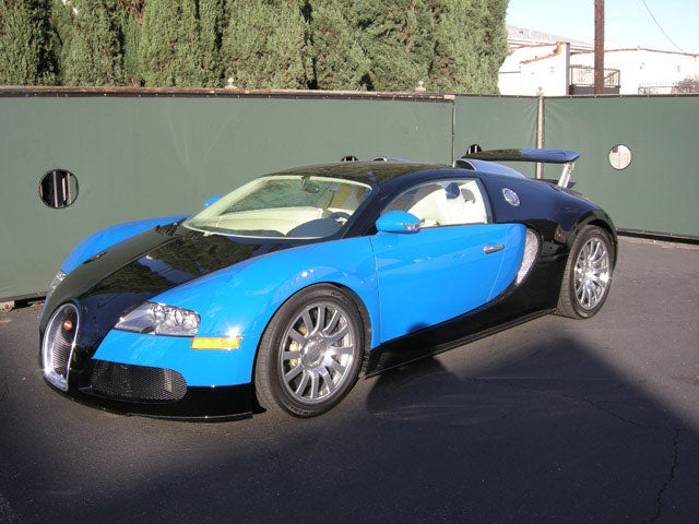 Where Did Conan Get That Bugatti Veyron?