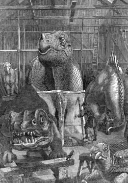 How the Democrats Tried to Destroy Dinosaur Art