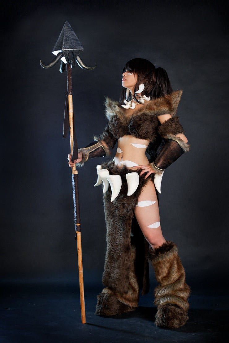 This League of Legends Character Needs Lots of Fur and Lots of Skin
