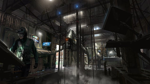 Titanfall Fish Markets Struggling For Business