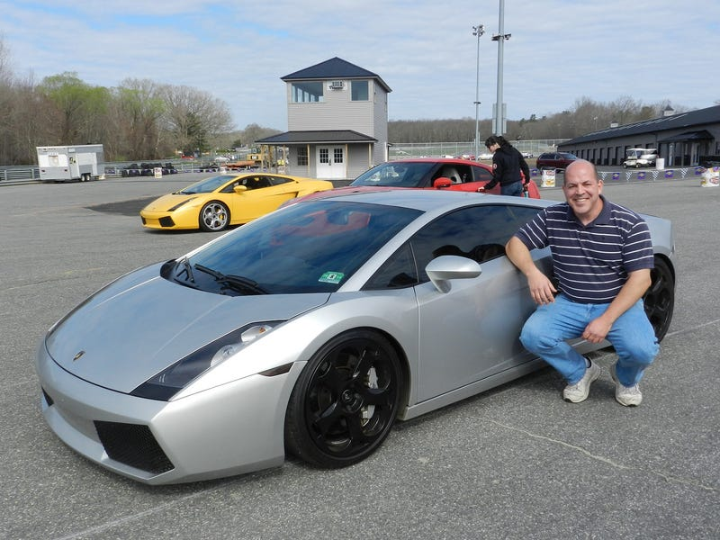 Got to flog a Gallardo on a road course yesterday..