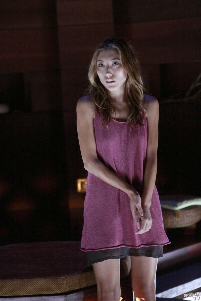 Echo's Turning The Dollhouse Upside Down, And Summer Glau's Having A Bad Day
