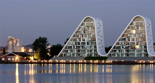 Denmark's Wave Building Is the Camel's Humps