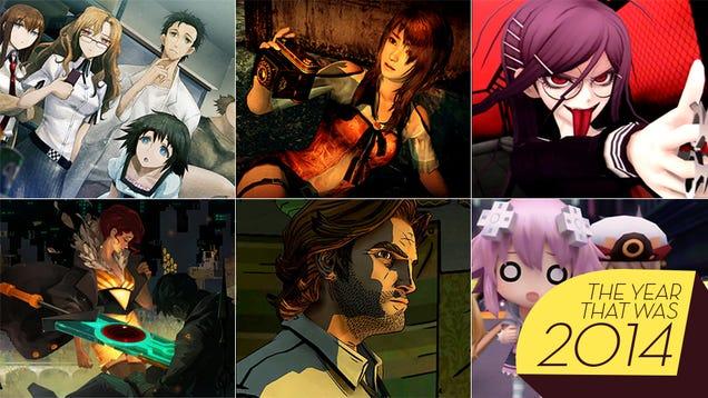 Richard's Top Ten Games of 2014