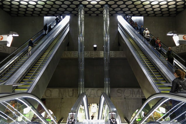 The New Budapest Metro Line Is an Awesome Psychedelic Trip