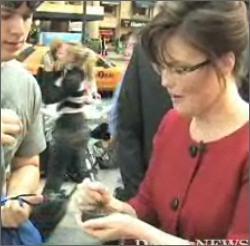 No You Did Not See Sarah Palin