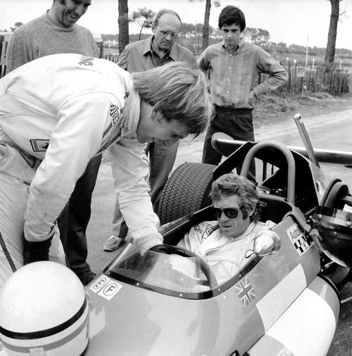 Even In A Formula Two Car, Steve McQueen Is Cooler Than You