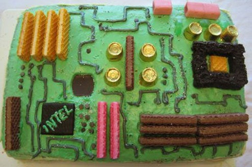 Motherboard Cake, Eat Before Obsolete